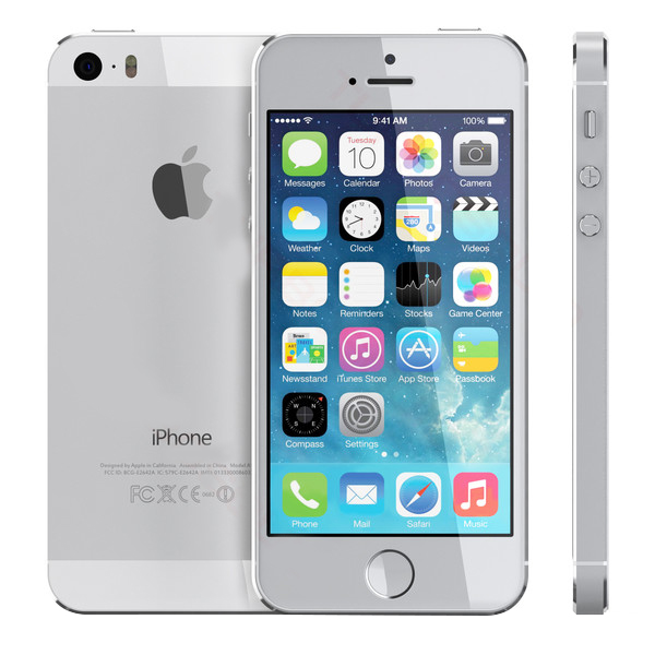 Verwonderend iPhone 5s (Silver) 32 GB   iAzure Apple Store EI-83